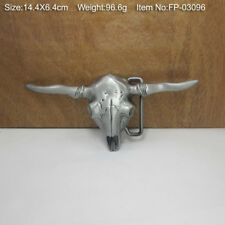 3D Cow Belt Buckles Men Zinc Alloy Western Cowboy Belt Buckle Animal Series