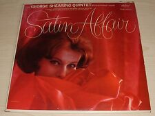 THE GEORGE SHEARING QUINTET SATIN AFFAIR ALBUM 1962 MONO CAPITOL RECORDS T-1628
