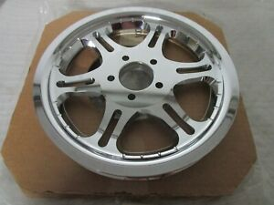 00-06 Harley Davidson Softail Slotted Six-Spoke Chrome Rear Sprocket Pulley