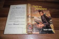 Rocky Benton -- DUELL im MORGENROT // Leihbuch von Omnia Blizzard ca 1950er
