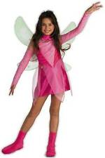 Flora Winx Club Costume - Small ( Size 4-6 X ) 5852