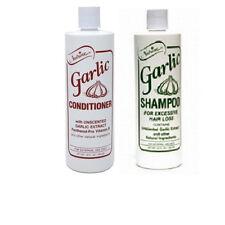 Nutrine Garlic Unscented Shampoo & Conditioner Set 16 oz each - Ships Fast!!