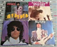 "4 X Prince 7"" Singles  All Vinyl  EXCELLENT. All Picture Sleeves"