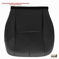 2010 2011 2012 GMC Yukon-Yukon XL Passenger Side Bottom Leather Seat Cover Black