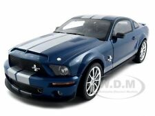 2008 FORD SHELBY MUSTANG GT500KR BLUE 1:18 SHELBY COLLECTIBLES SC300