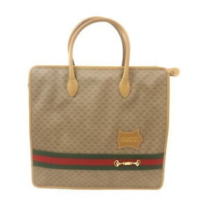 Vintage Gucci Tote Bag  Browns PVC 1425443