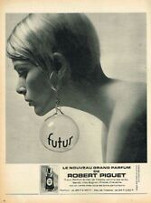 I- Publicité Advertising 1967 Parfum Futur par Robert Piguet