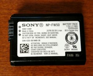 Sony NP-FW50 camera battery (Official Sony)