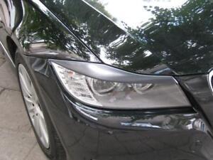 BMW e90 e91 EYEBROWS ögonlock ABS plastic headlight spoiler eyelids lids brows M