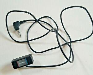 Vintage SONY Microphone Black Clip Stereo Mic 3.5mm Mini Jack Walkman