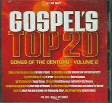VARIOUS ARTISTS - GOSPEL'S TOP 20 SONGS OF THE CENTURY, VOL. 2 NEW CD