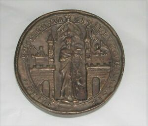 Bronze City Seal of Breslau From 1351