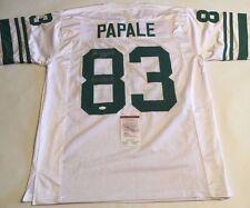 Vince Papale Autographed Philadelphia Eagles Jersey INVINCIBLE JSA Witnessed COA