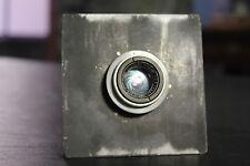 *Rare* Steinheil Munchen Triplar 1:4.5 f=9cm 90mm Vintage Lens