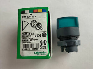 NEW Schneider Electric ZB5AK1433 Green Selector Switch