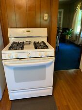 gas range stove pre owned