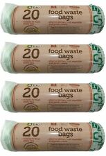 Kitchen Caddy Biodegradable Food Waste Bags 120 x 5l