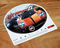 Need for Speed Hot Pursuit Promo Sticker PS3 Xbox 360 EA Games 2010 Collectible