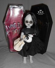 living dead doll series 8 * THE LOST * black dress white doll