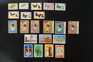 Belize lot of VF MNH + seven used stamps 2020 cv$51.00 (k160)