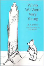 WHEN WE WERE VERY YOUNG A A Milne E H Shepard New Colour paperback Child Classic