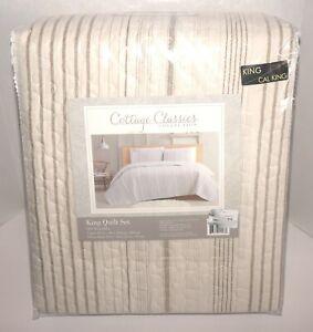 Cottage Classics Collection 3-Piece King Quilt Set Color: Warm Hearth