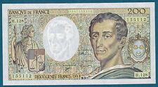 FRANCE - 200 FRANCS MONTESQUIEU Fayette n° 70.12c de 1992 en NEUF H.128 155112