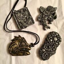 New ListingCryptocurium Hp Lovecraft Inspired Magnets Deep One Pendant Handmade Cast Resin