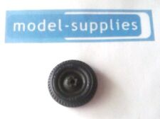 Britains 9786 reproduction US Jeep black rubber tyre & green plastic hub