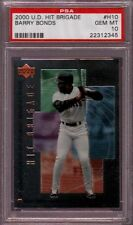 2000 UPPER DECK HIT BRIGADE # H10 BARRY BONDS ☆RARE☆ S.F. GIANTS PSA 10 GEM-MINT