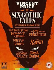 Six Gothic Tales Collection Blu-ray Vincent Price, Edgar Allan Poe New & Sealed