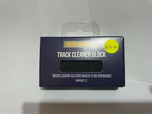 Bachmann Model Maker MM012 Track Cleaner Block BNIB