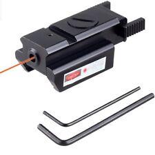 Puntatore Laser Rosso Mirino Laser Per Fucile Pistola Carabina Softair 100M