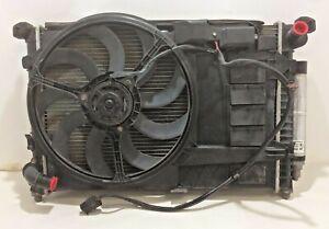 2002-2006 Mini Cooper Radiator Condenser Fan Assembly w/ Shroud / OEM / R1005