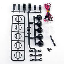 XHobby 5LED Spotlight Light Bar Black For HSP HPI 1:10 RC Model Car Turck 156BK