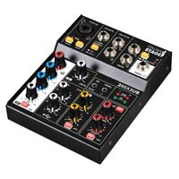 ITALIAN STAGE IS 2MIX3UB mixer compatto usb 3 canali con effetti echo bluetooth
