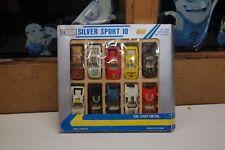 SILVER SPORT 10 Toys LAMBORGINI FERRARI  JAGUAR ETC Collection with 10 cars T12