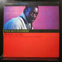 Wes Montgomery - Movin' Along LP VG+ RS 9342 1st Stereo Black Label Vinyl Record