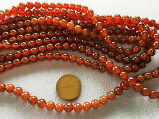 "16"" Strand High-Quality CARNELIAN Gemstone Beads 6mm"