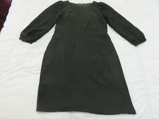 D&G DOLCE & GABBANA STAFF MADE IN ITALY BEAUTIFUL BLACK DRESS UK 12 LACE SLEEVES