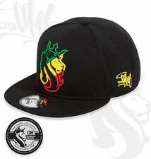 OGABEL Og Abel Lion Rasta King Crown Tattoo Inked Skater Snapback Hat Cap