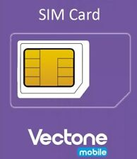 100xvectone mobile Sims With £5 Credit.Pay-G.Wholesale , joblot , bulk sims