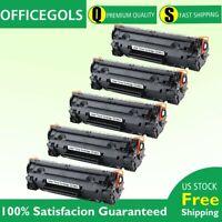 5Pk CE285A 85A Laser Toner Cartridge for HP LaserJet Pro P1102w M1217nfw Printer