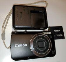 Canon PowerShot A3400 IS 16.0MP Digital Camera - Black