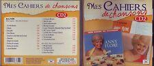Mes Cahiers de Chansons 2 - Anny Flore - Cd 24 titres Marianne Mélodies 2013