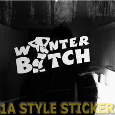 Winterbitch Winter Aufkleber im set Auto Winterreifen dub oem tuning sticker 89