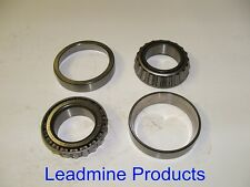 """9"""" Ford -Two LM501310 &  LM501349 Premium Bearing Sets"""