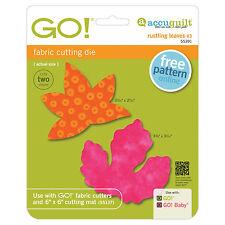 AccuQuilt GO! & Baby Rustling Leaves #3- Sweetgum and Poplar (Small) Die 55391