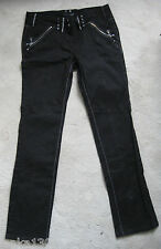 NEXT Size 12 R Black SKINNY Stretch Jeans