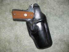 Shoemaker Lined Belt Holster Colt Commander 1911 4 1/4 inch GC 060120